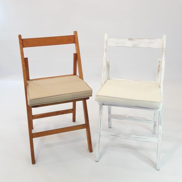 cadires amb coixi