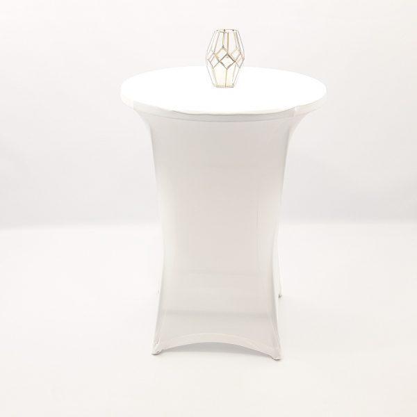 funda elástica mesa cóctel
