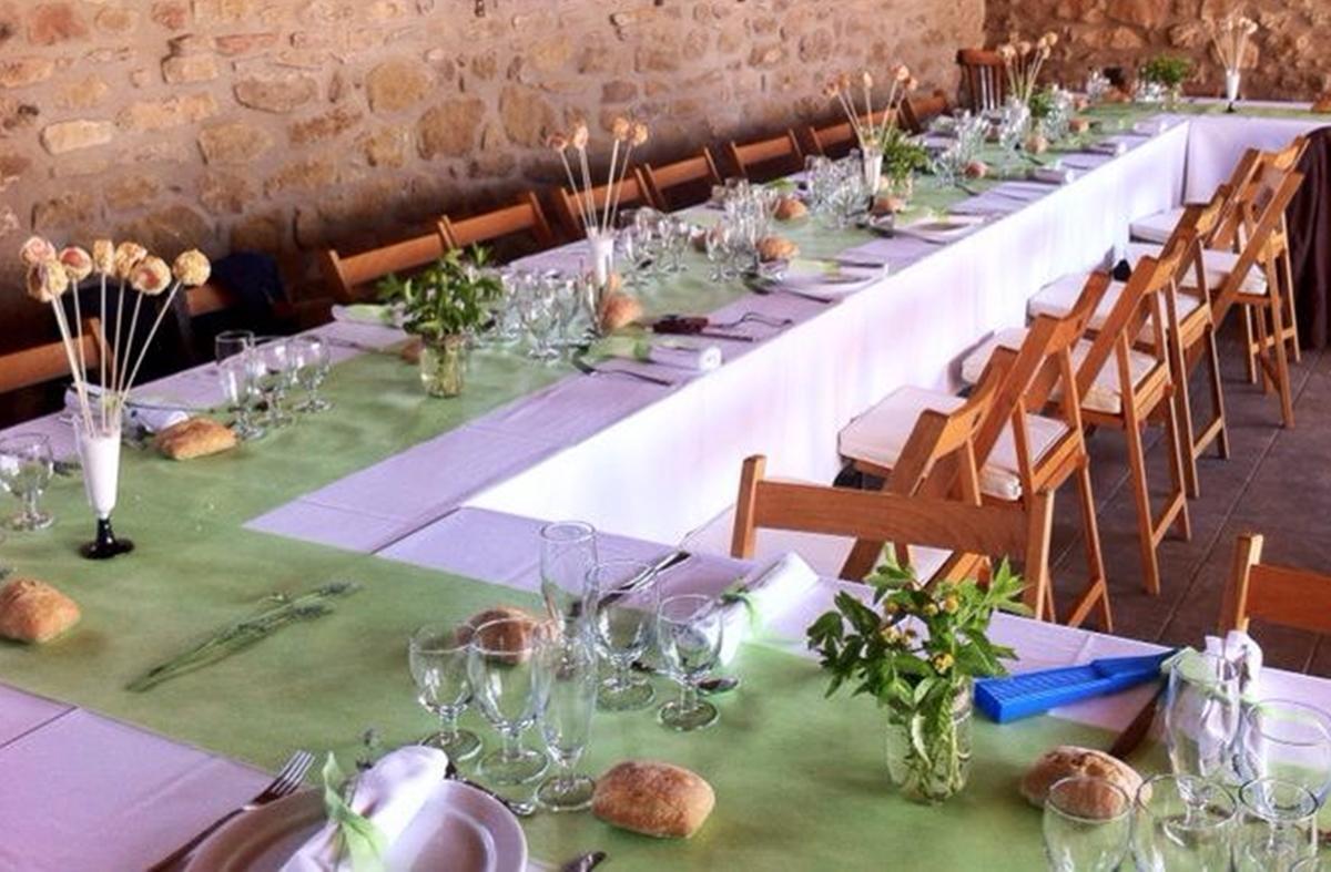 cami de taula verd bmb