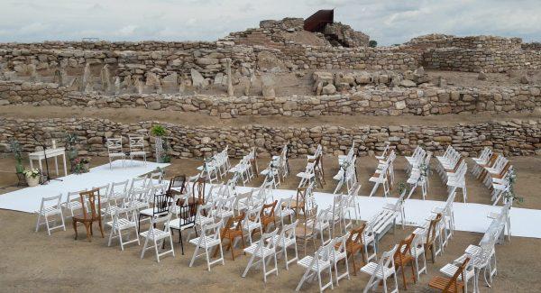 ceremonia mezcla de sillas