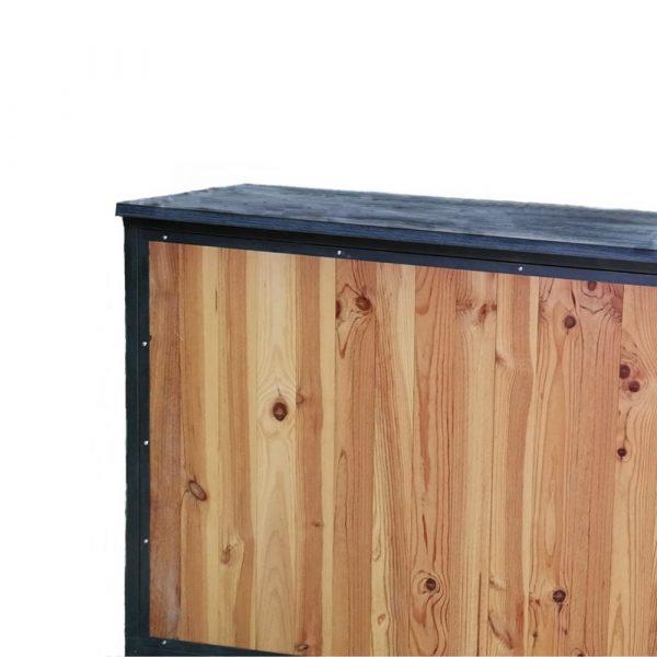 barra bar madera