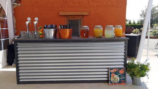 barra bar de chapa