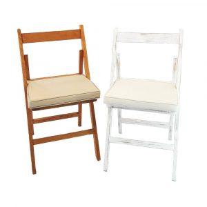 cadires de fusta amb coixí