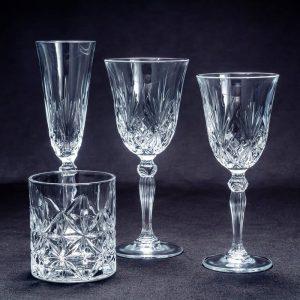 Copas vidre treballat