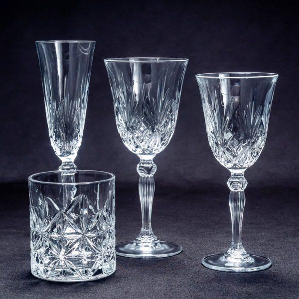 Copas cristal trabajado
