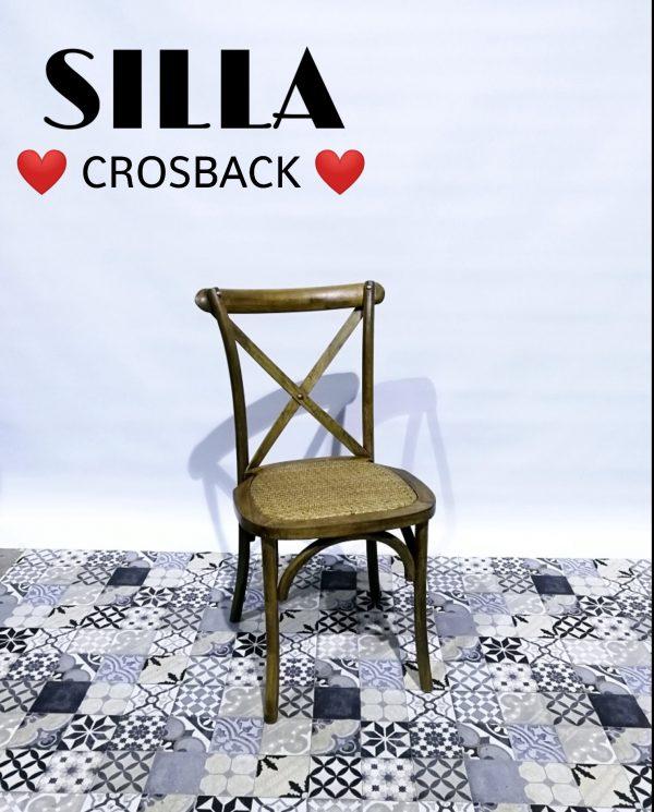 crossback de mimbre