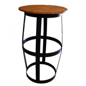 mesa cóctel barril