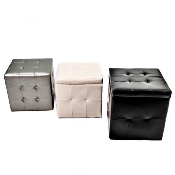puffs cubo mezclados