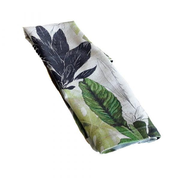 servilletas de hojas