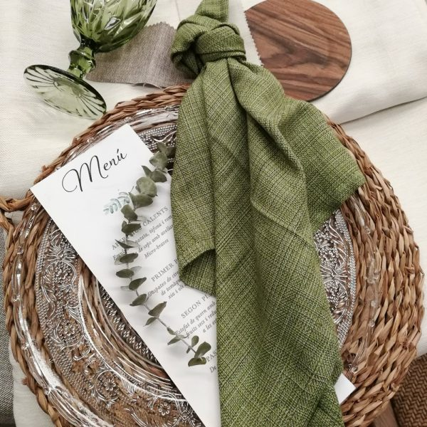 servilleta verde