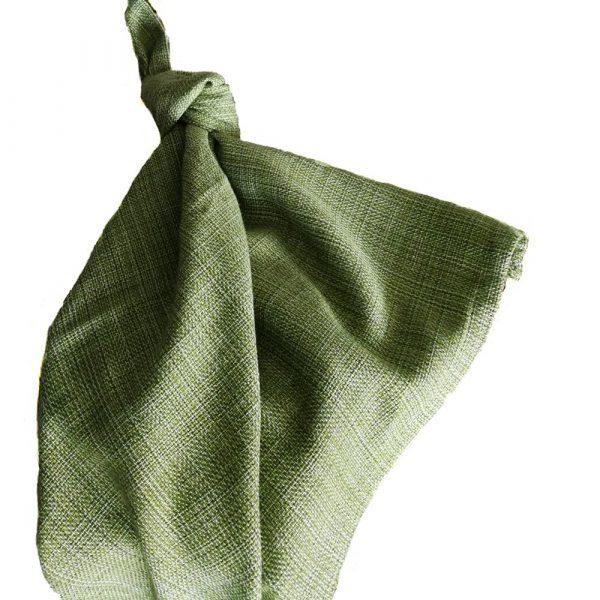 servilletas verde hierba