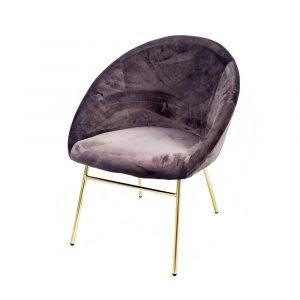 sillón de terciopelo