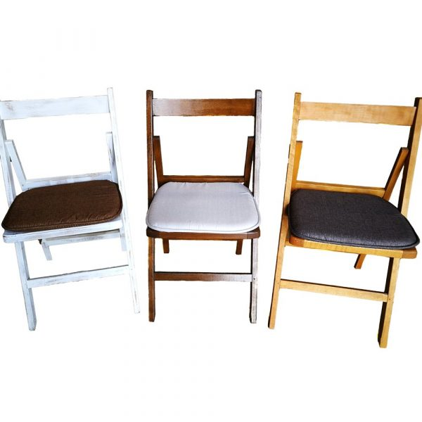 sillas con cojín