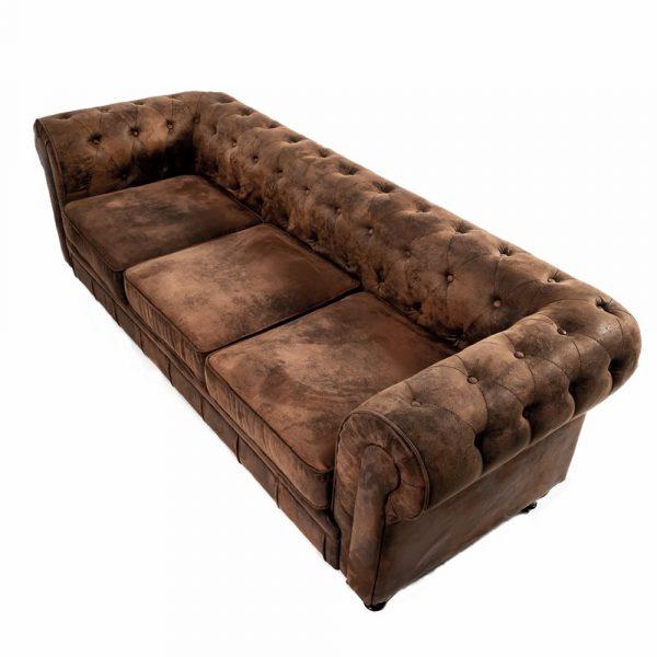 sofá chester de tres