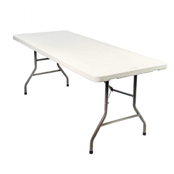 mesa plegable de 1,80 x 0,75